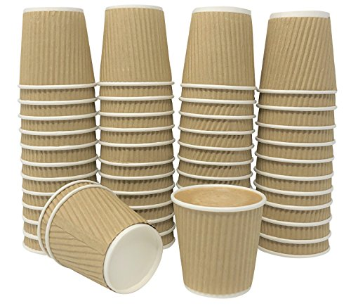Hot Coffee Cup For Espresso, Nespresso, Lavazza, Sampling Cup 50 Pack ()