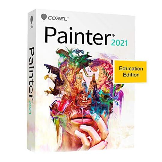 Corel Painter 2021 Education Edition | Digital Painting Software | Illustration, Concept, Photo and Fine Art [PC/Mac…