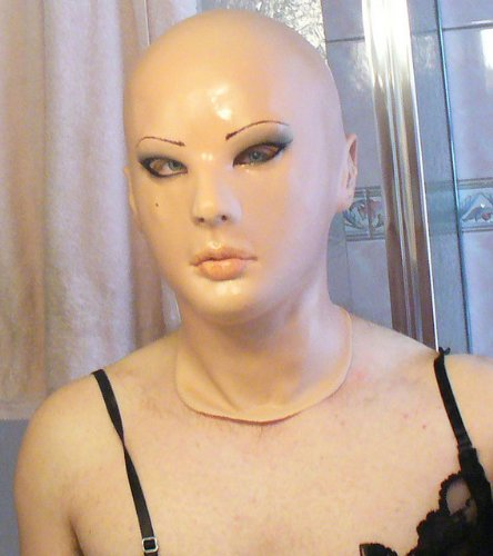 JENNY LANDIS Ashley Female Latex Mask (Halloween Realistic Woman Mask)