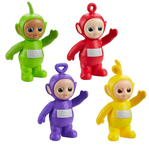 Teletubbies 06881 Twist & Chime 4-Pack ()