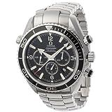 Omega Men's Seamaster Planet Ocean Automatic Chronometer Chronograph Watch Black 2210.5