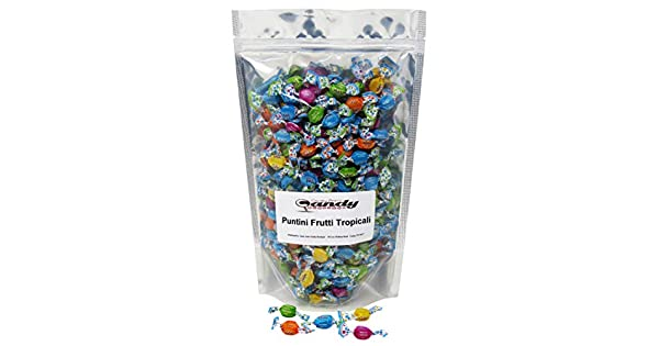 puntini Frutti TROPICALI 1 libra Bolsa: Amazon.com: Grocery ...
