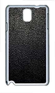 Samsung Galaxy Note 3 N9000 Case,Black Traces The Background PC Hard Plastic Case for Samsung Galaxy Note 3 N9000 Whtie
