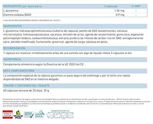 Biogena DAOZym - Con la enzima que degrada la histamina DAO ...