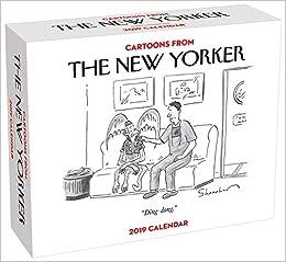 New Yorker December 5 2019 Desk Calendar Cartoons from The New Yorker 2019 Day to Day Calendar: Conde Nast
