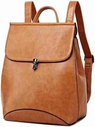 8505d3ecf70 WINK KANGAROO Fashion Shoulder Bag Rucksack PU Leather Women Girls Ladies  Backpack Travel bag