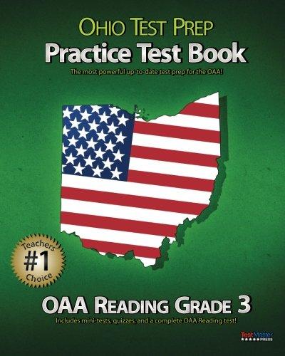 OHIO TEST PREP Practice Test Book OAA Reading Grade 3