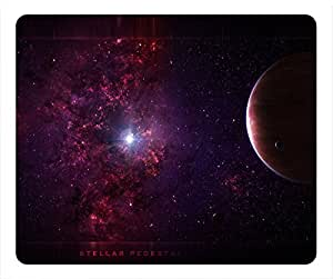Planet Design Rectangular Mouse Pad Spot