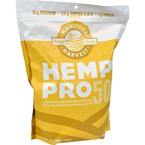 2Pack! Manitoba Harvest Hemp Pro 50 - 32 oz by Protein Powders