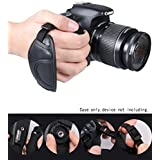 WGear Double Secured DualStrap Padded Wrist and Grip Strap for DSLR Cameras - Prevents drop and stabilizes image capturing