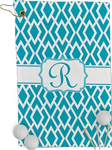 (RNK Shops Geometric Diamond Golf Towel - Full Print (Personalized))