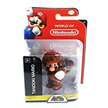 "World of Nintendo 2.5"" Mini Figure: Tanooki Mario"