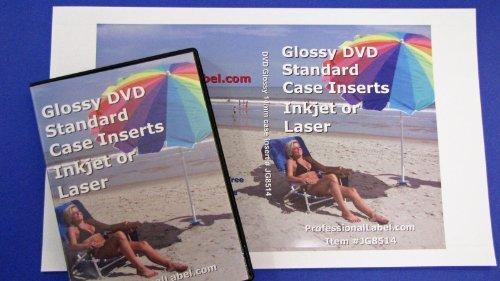 DVD Case Inserts Inkjet Glossy (Glossy Dvd Inserts)