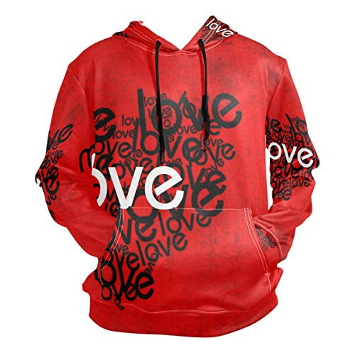 Chu warm 3D Hoodie Love Me Pullover Hooded Sweatshirts for sale  Delivered anywhere in Canada