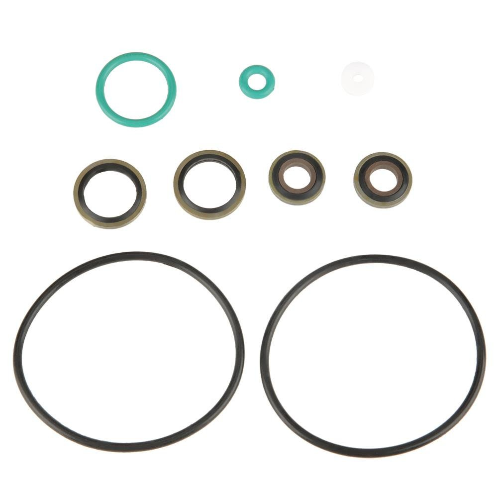 O Ring Assortment Set, Rubber O-ring Seal Gasket for Double-cylinder 30MPa/40MPa Air Pump Compressor, Seal Gasket for Plumbing