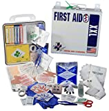 Certified Safety K605-143 24PW ANSI XXL Deluxe 50 Person First Aid Kit in Poly White