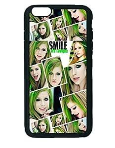 Avril Lavigne Smile Album Custom Diy Unique Image Durable Rubber Silicone Case Iphone 6 Plus - 5.5 inches
