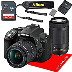 Image of the product Nikon D5300 w/AF P DX that is listed on the catalogue brand of Nikon.