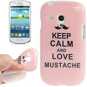 Carcasa Samsung Galaxy S3 MINI KEEP CALM AND LOVE MUSTACHE ...