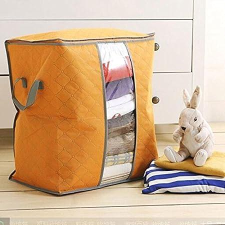 50 cm Gr/ün 30 About1988 Aufbewahrungstasche Aufbewahrungstasche f/ür Bettdecken und Kissen Trage Tasche f/ür Bettzeug oder Matratzenauflagen handliche Rei/ßverschluss Box aus Vlies,48