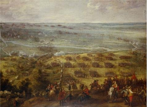 Oil Painting 'Pieter Snayers,The Battle Of Kallo,ca.1592-1667' Printing On High Quality Polyster Canvas , 20x27 Inch / 51x70 Cm ,the Best Bedroom Decoration And Home Gallery Art And Gifts Is This Imitations Art DecorativeCanvas Prints