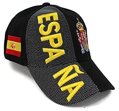 "High End Hats World Soccer/Football Team Hat Collection"" Embroidered Adjustable Baseball Cap"