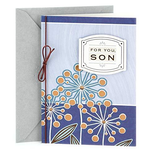 Hallmark Birthday Card for Son (Flowers)