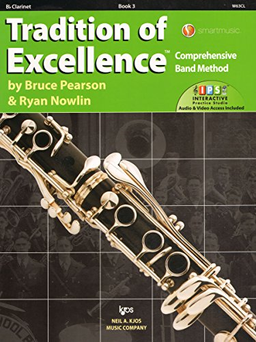 W63CL - Tradition of Excellence Book 3 - Clarinet