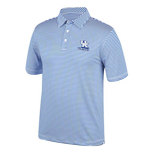 (Top of the World NCAA Men's Kentucky Wildcats Team Color Stretch Bunker Polo Royal X)