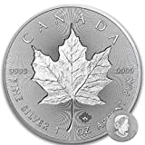 Silver Maple Leaf Double INCUSE – 2019 1 OZ Pure Silver Coin – Royal Canadian Mint
