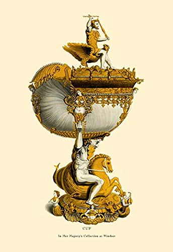 """Buyenlarge 0-587-08759-5-P1218 """"Cup in Her Majesty's Collection at Windsor"""" Paper Poster, 12"""" x 18"""""""