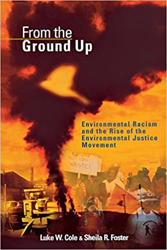 book cover: From the Ground Up Environmental Racism and the Rise of the Environmental Justice Movement