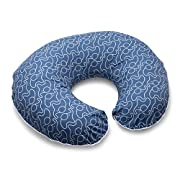 Boppy Pillow Slipcover, Blue Classic Plus Modern Elephants