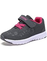 Kids Girl's Fashion Sneakers Lightweight Casual Sports...