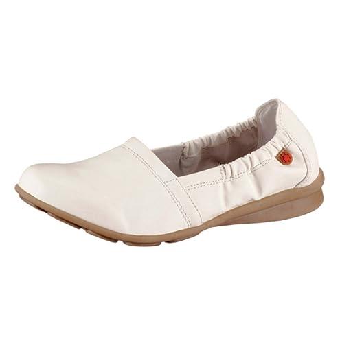 Hush Puppies - Mocasines de Material Sintético para mujer Blanco blanco 42, color Blanco, talla 42: Amazon.es: Zapatos y complementos