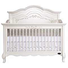 Once upon a time, there was a whimsical fairytale nursery collection that was inspired and designed by Evolur. The Evolur Aurora 5 in 1 convertible crib incorporates the soft, feminine carving, detailed spindles, Queen Anne style feet and int...