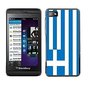 - Flag - - Caso de la cubierta protectora de la manera Dream Catcher Dise?o de pl¨¢stico duro FOR Blackberry Z10 Retro Candy