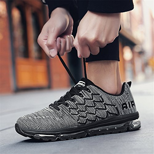 Gris Femme Baskets 45 Chaussures Sneakers Homme Sport Running Air Style Fitness 34 Eu Multicolore Gym Respirante 1ZqnnSwx