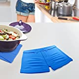CKB Ltd Hot Pants Shorts Trivet Silicone Worktop Saver Work Surface Protector Mat For Resting Hot Cooking Pots & Pan