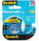 Scotch Removable Tape, 0.75 x 650 Inches, 2-PACK