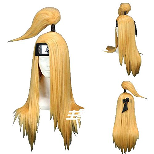 Starry * Deidara with a wig net long cosplay wigs wigs cosplay wig costume