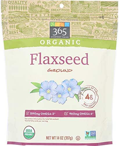 365 Everyday Value, Organic Ground Flaxseed, 14 oz