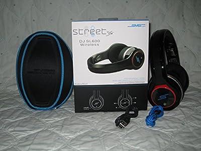 Street by 50 cent SMS DJ SL600 Wireless Headphones (Shadow Black)