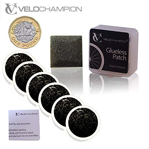 VeloChampion Puncture Repair Patches Self-Adhesive Pack of 6