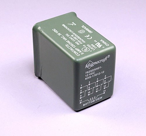 ((RR #65) 1pc Magnecraft Struthers-Dunn Power Relay 782XDXH21-12VDC KHS-17D12-12, NIB )