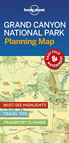 Lonely Planet Grand Canyon National Park Planning Map [Idioma Inglés] por Lonely Planet