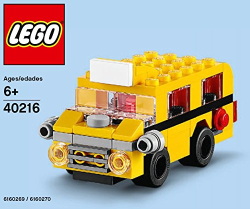 LEGO 40216 Sept 2016 School Bus Monthly Mini Build Polybag 65pcs