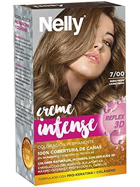 Nelly Set Tinte 7/00 Rubio Medio - Coloración permanente, 50 ...