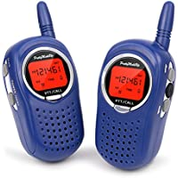 Walkie Talkies for Kids, 22 Channel FRS/GMRS Walkie Talkie 2 Way Radio 3 Miles UHF Walkie Talkies (1 Pair) Blue