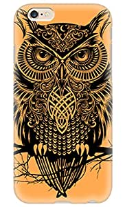 Simply Case Designs Owl Warrior Design PC Material Hard Case For iphone 6 4.7""